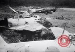 Image of Japanese airfield and planes at Lae destroyed by allied bombers New Guinea, 1943, second 60 stock footage video 65675030887