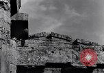 Image of soldiers at Greek temple of Hera World War 2 Paestum Italy, 1943, second 2 stock footage video 65675030900