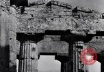 Image of soldiers at Greek temple of Hera World War 2 Paestum Italy, 1943, second 6 stock footage video 65675030900