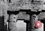 Image of soldiers at Greek temple of Hera World War 2 Paestum Italy, 1943, second 7 stock footage video 65675030900