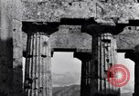 Image of soldiers at Greek temple of Hera World War 2 Paestum Italy, 1943, second 8 stock footage video 65675030900
