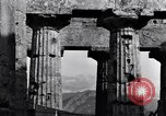Image of soldiers at Greek temple of Hera World War 2 Paestum Italy, 1943, second 9 stock footage video 65675030900