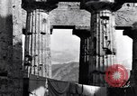 Image of soldiers at Greek temple of Hera World War 2 Paestum Italy, 1943, second 10 stock footage video 65675030900
