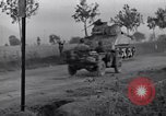 Image of M-4 and M-7 tanks Salerno Italy, 1943, second 8 stock footage video 65675030906