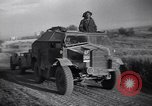 Image of British army vehicles Salerno Italy, 1943, second 56 stock footage video 65675030912
