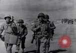 Image of US infantrymen marching Tunisia North Africa, 1943, second 9 stock footage video 65675030917