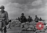Image of US infantrymen marching Tunisia North Africa, 1943, second 29 stock footage video 65675030917