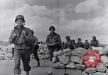 Image of US infantrymen marching Tunisia North Africa, 1943, second 33 stock footage video 65675030917