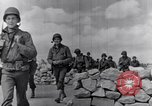 Image of US infantrymen marching Tunisia North Africa, 1943, second 34 stock footage video 65675030917