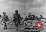 Image of US infantrymen marching Tunisia North Africa, 1943, second 39 stock footage video 65675030917