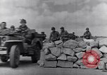 Image of US infantrymen marching Tunisia North Africa, 1943, second 46 stock footage video 65675030917