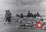 Image of US infantrymen marching Tunisia North Africa, 1943, second 49 stock footage video 65675030917