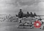 Image of US infantrymen marching Tunisia North Africa, 1943, second 51 stock footage video 65675030917