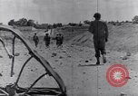 Image of US infantrymen marching Tunisia North Africa, 1943, second 56 stock footage video 65675030917
