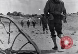 Image of US infantrymen marching Tunisia North Africa, 1943, second 59 stock footage video 65675030917
