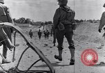 Image of US infantrymen marching Tunisia North Africa, 1943, second 60 stock footage video 65675030917