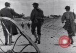 Image of US infantrymen marching Tunisia North Africa, 1943, second 61 stock footage video 65675030917
