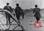 Image of US infantrymen marching Tunisia North Africa, 1943, second 62 stock footage video 65675030917