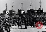 Image of Loading LCI Landing Crafts Infantry Paestum Italy, 1943, second 14 stock footage video 65675030920