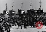 Image of Loading LCI Landing Crafts Infantry Paestum Italy, 1943, second 20 stock footage video 65675030920