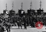 Image of Loading LCI Landing Crafts Infantry Paestum Italy, 1943, second 21 stock footage video 65675030920