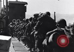 Image of Loading LCI Landing Crafts Infantry Paestum Italy, 1943, second 33 stock footage video 65675030920