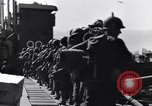 Image of Loading LCI Landing Crafts Infantry Paestum Italy, 1943, second 34 stock footage video 65675030920