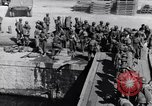 Image of Loading LCI Landing Crafts Infantry Paestum Italy, 1943, second 57 stock footage video 65675030920