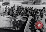Image of Loading LCI Landing Crafts Infantry Paestum Italy, 1943, second 58 stock footage video 65675030920