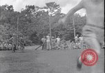 Image of US soldiers baseball match Guadalcanal Solomon Islands, 1943, second 27 stock footage video 65675030932