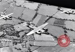 Image of bombing shipyards on Seine Le Trait France, 1943, second 20 stock footage video 65675030944