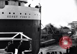 Image of Henry Ford II freighter Lorain Ohio USA, 1924, second 2 stock footage video 65675030951