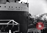 Image of Henry Ford II freighter Lorain Ohio USA, 1924, second 5 stock footage video 65675030951