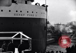 Image of Henry Ford II freighter Lorain Ohio USA, 1924, second 6 stock footage video 65675030951