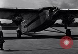 Image of Ford tri-motor plane United States USA, 1929, second 30 stock footage video 65675030960