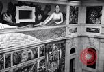 Image of Diego Rivera Industrial Mural Detroit Michigan USA, 1932, second 46 stock footage video 65675030961