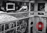 Image of Diego Rivera Industrial Mural Detroit Michigan USA, 1932, second 47 stock footage video 65675030961