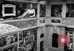Image of Diego Rivera Industrial Mural Detroit Michigan USA, 1932, second 51 stock footage video 65675030961