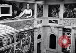 Image of Diego Rivera Industrial Mural Detroit Michigan USA, 1932, second 53 stock footage video 65675030961