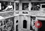 Image of Diego Rivera Industrial Mural Detroit Michigan USA, 1932, second 59 stock footage video 65675030961