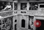 Image of Diego Rivera Industrial Mural Detroit Michigan USA, 1932, second 60 stock footage video 65675030961