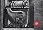 Image of Diego Rivera Industrial Mural Detroit Michigan USA, 1933, second 22 stock footage video 65675030965