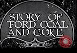Image of Ford coal mining Stone Kentucky USA, 1928, second 1 stock footage video 65675030978