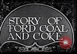 Image of Ford coal mining Stone Kentucky USA, 1928, second 2 stock footage video 65675030978