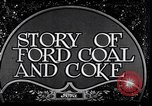 Image of Ford coal mining Stone Kentucky USA, 1928, second 3 stock footage video 65675030978