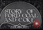 Image of Ford coal mining Stone Kentucky USA, 1928, second 6 stock footage video 65675030978