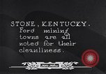Image of Ford coal mining Stone Kentucky USA, 1928, second 38 stock footage video 65675030978