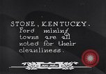Image of Ford coal mining Stone Kentucky USA, 1928, second 39 stock footage video 65675030978
