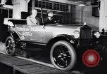 Image of 15 millionth Ford Model T Highland Park Michigan USA, 1927, second 34 stock footage video 65675030986
