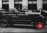 Image of 15 millionth Ford Model T Highland Park Michigan USA, 1927, second 40 stock footage video 65675030986